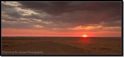 Namib desert into the sun 1. Flemming Bo Jensen Photography