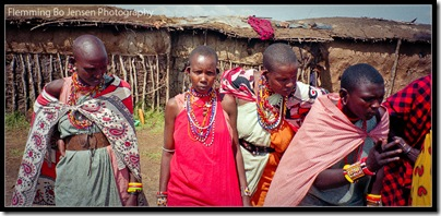 Kenya masai women blog
