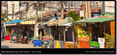 Ramkanphaeng street scene