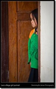 laos village girl - blog