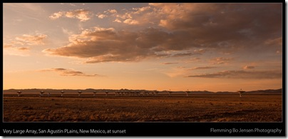 VLA - sunset - blog