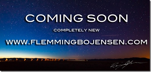 Coming soon new www.flemmingbojensen.com