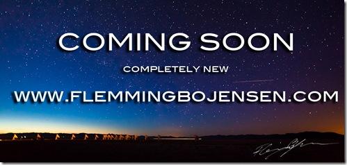 Coming soon new www.flemmingbojensen.com