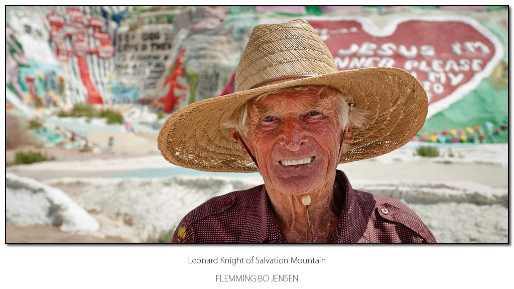 """Featured image for """"Leonard Knight of Salvation Mountain"""""""
