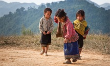 Children in Laos. (c) Flemming Bo Jensen