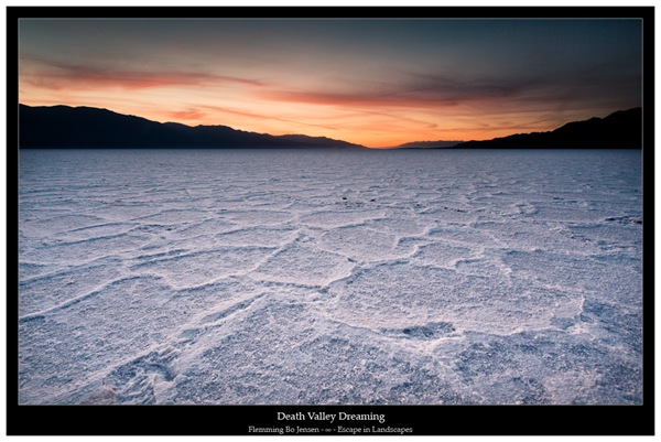 Death Valley dreamscape blog
