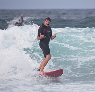 Mo Mark the Surfer