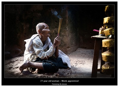 cambodia-monk praying copy