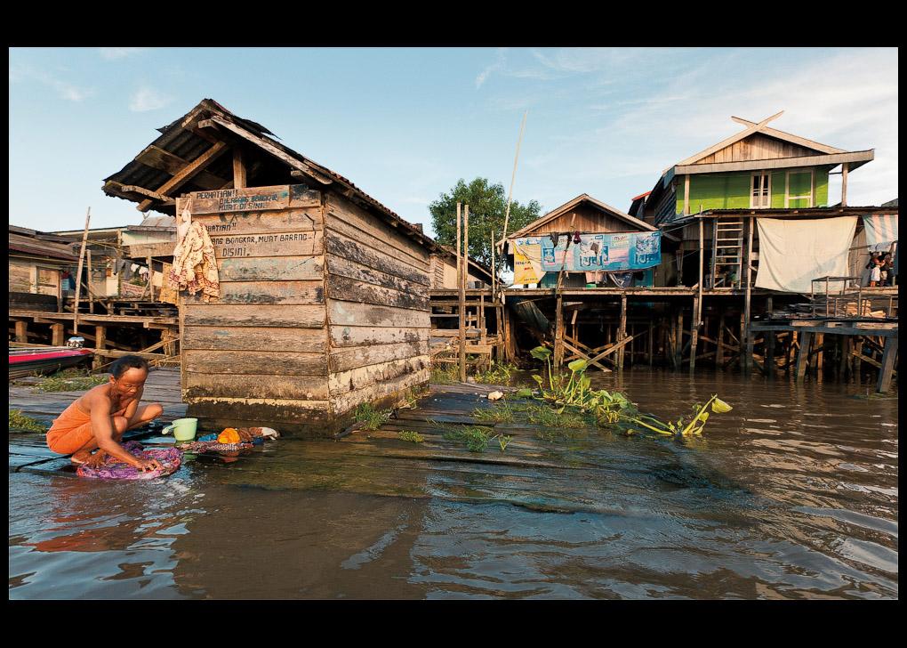 The town of Pangkalan Bun | Flemming Bo Jensen