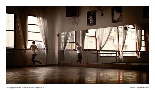 america del sur - tango practice
