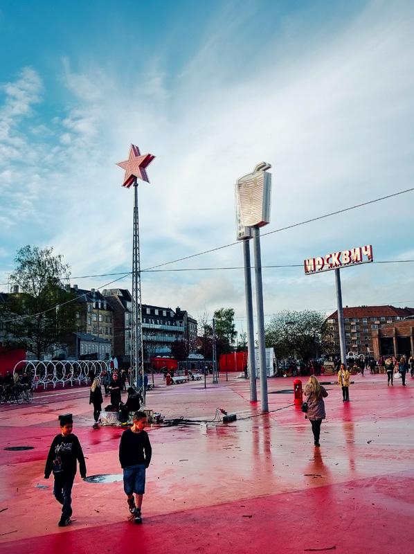 The Red Square, Nørrebro