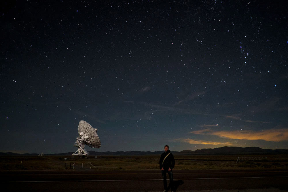 FBJ at night at VLA