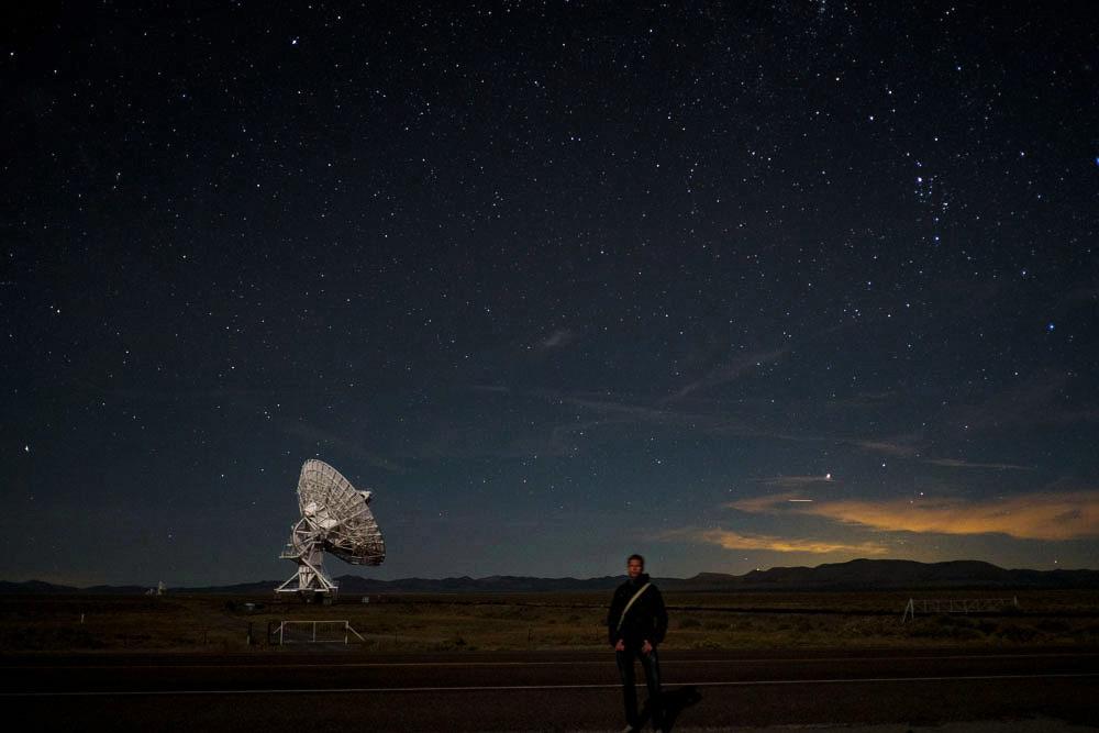 FBJ at night at VLA