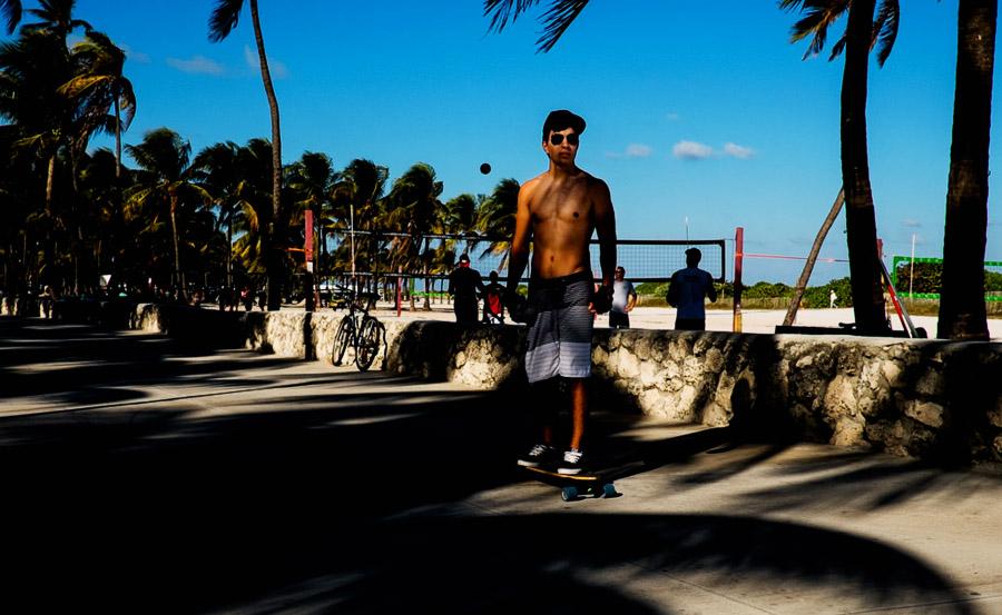 Miami SoBe skater