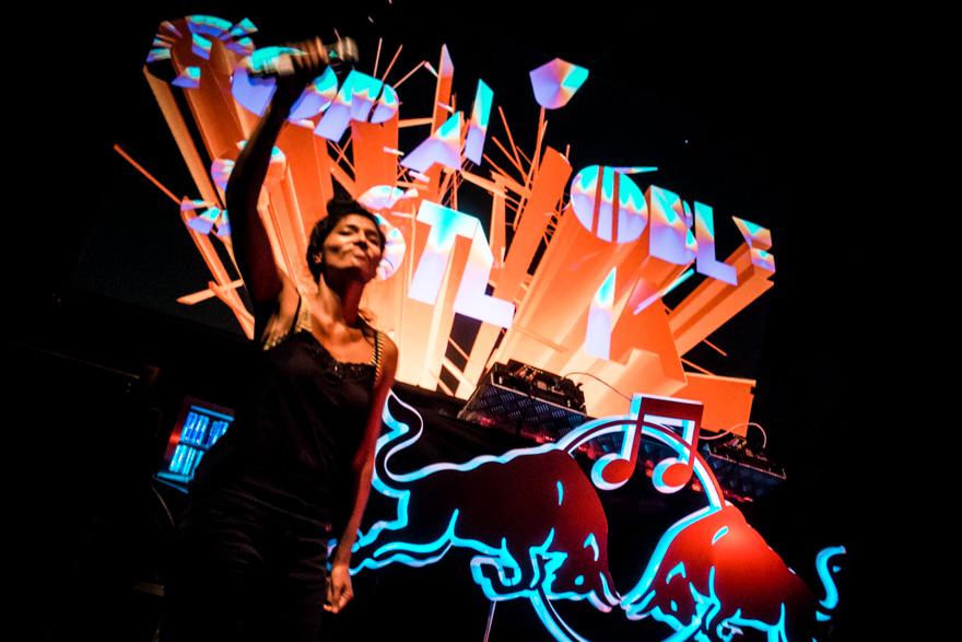 Copia Doble feat. Lady Smita at RAW2013 in Copenhagen
