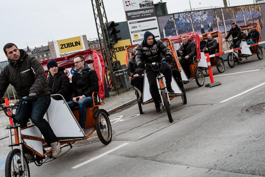 The Fuji Ambassadors Rickshaw Parade