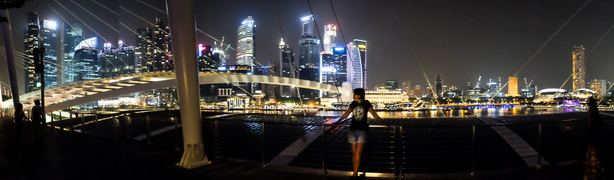 Charlene at Marina Bay