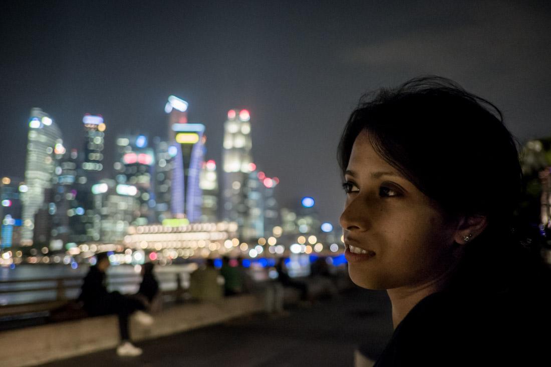 Spacegirl, Bright Lights, Big City
