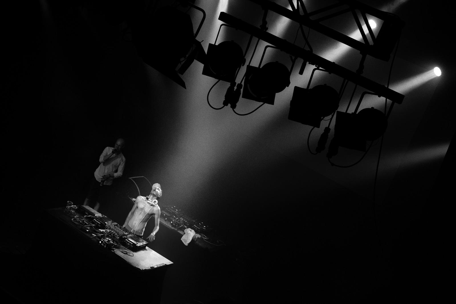 DJ Copyflex at Vega, Strøm festival 2012.