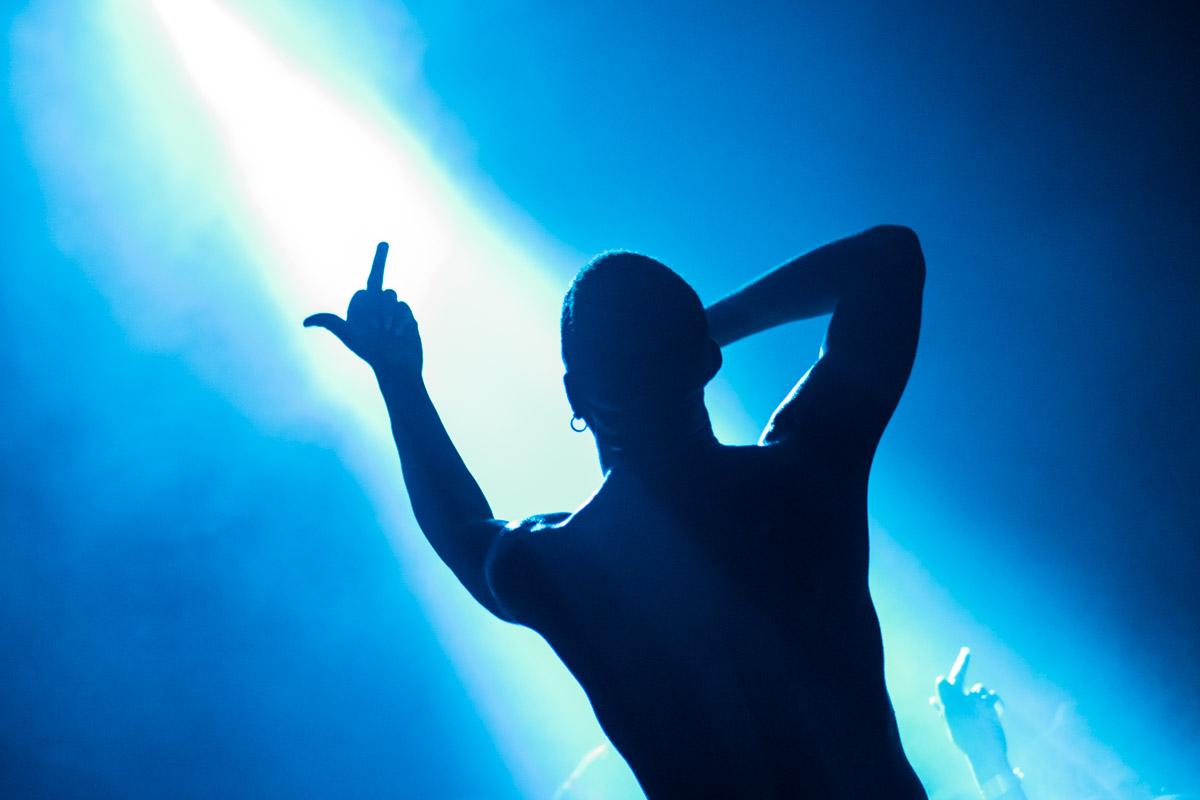 Mykki Blanco salute!