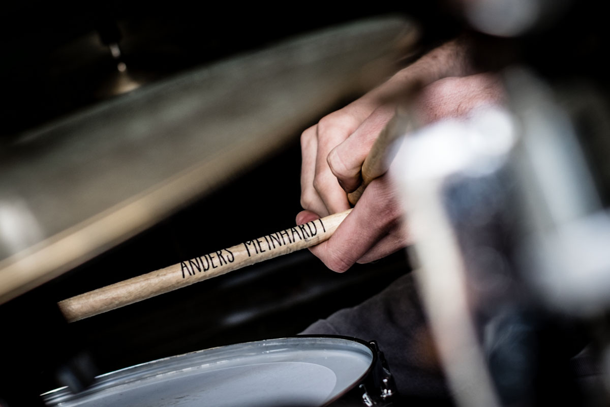 These drumsticks take a proper beating by Anders