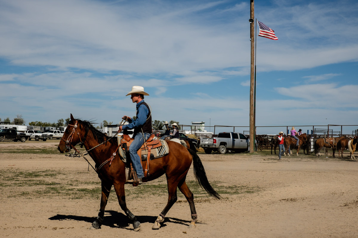 Flemming Bo Jensen - College Rodeo, Chadron, Nebraska