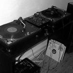 My DJ setup around the year 2000