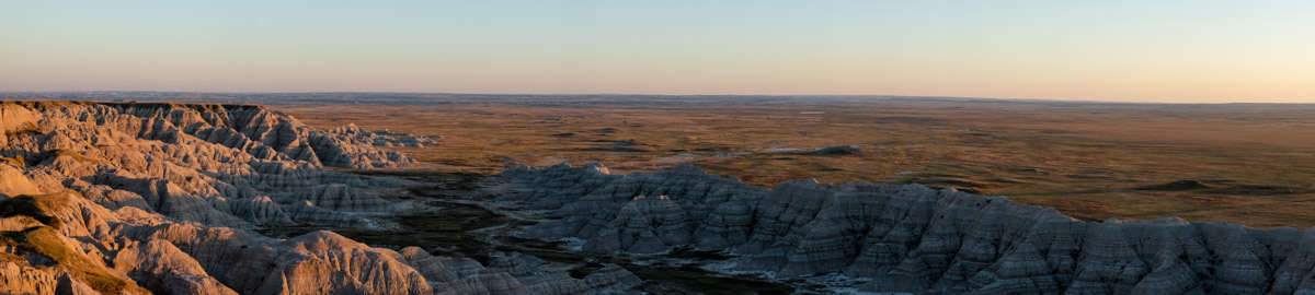 Badlands, Fuji X-T1 in camera panorama