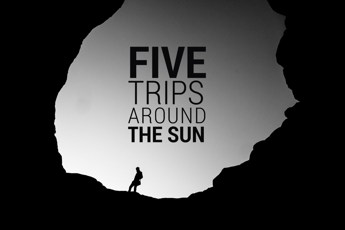 """Featured image for """"Five Trips Around The Sun"""""""