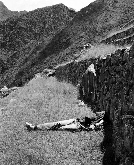 Peru black and white. 2011