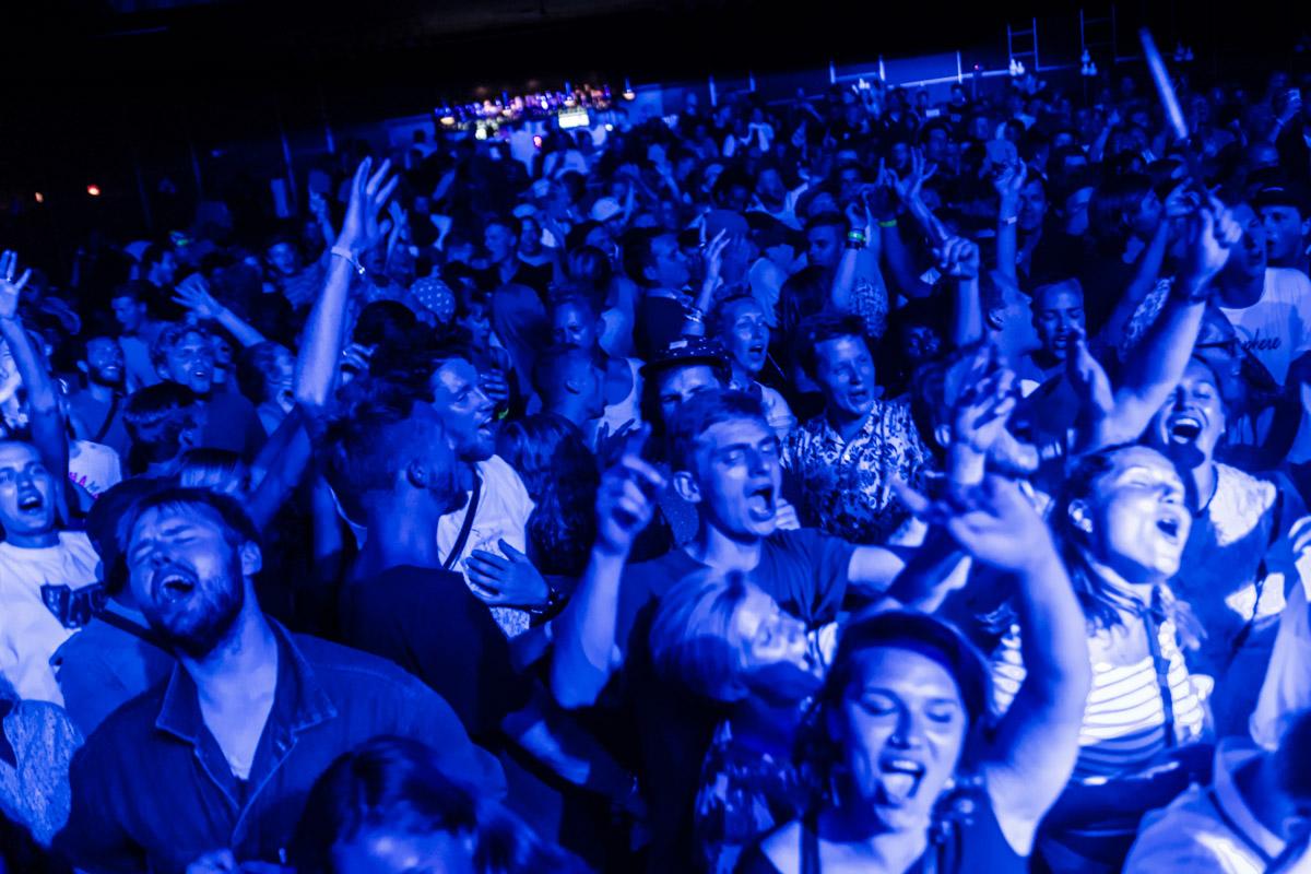 Crowd loves it