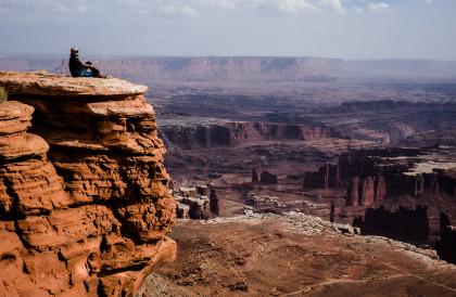 Charlene at Canyonlands, Utah. Fuji X-T1, 18mmF2 lens