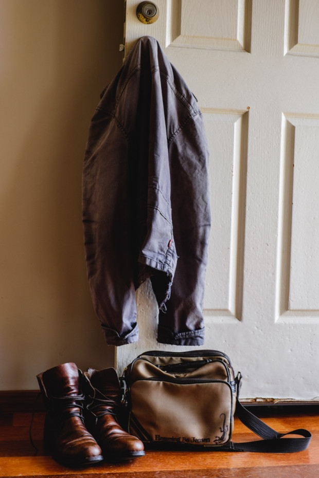 Jacket, boots and bag - my essential outfit! Picture by Charlene Winfred