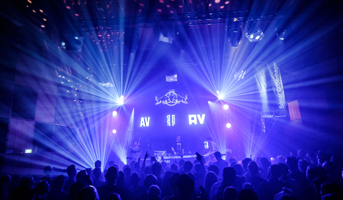 AV AV AV bringing down the house at Sonar Copenhagen. Credits: Flemming Bo Jensen / Red Bull Content Pool
