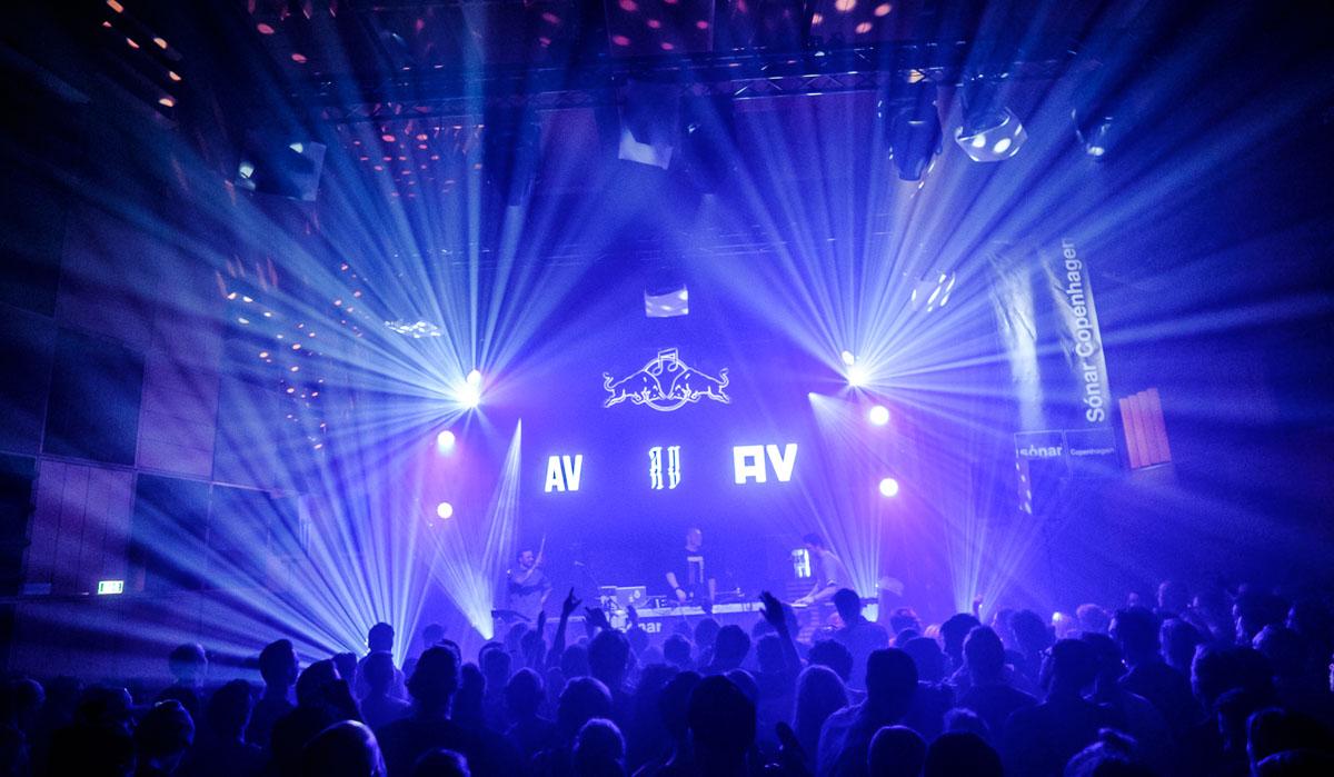 AV AV AV bringing down the house at Sonar Copenhagen. Credits: Flemming Bo Jensen / Red Bull Content Pool