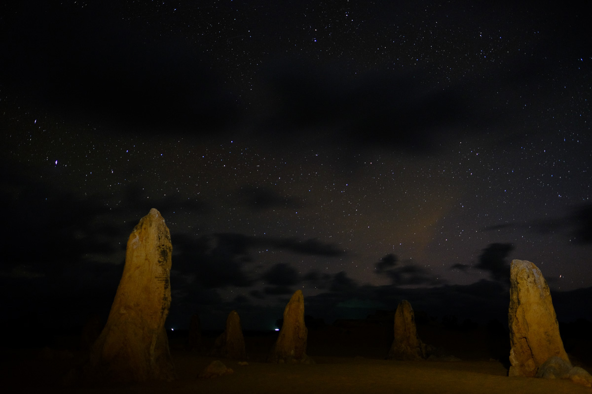 Nambung National Park, Australia. Fujifilm X-T1, Fujinon 16mm lens, 20sec at F1.4, iso500 - in camera JPEG