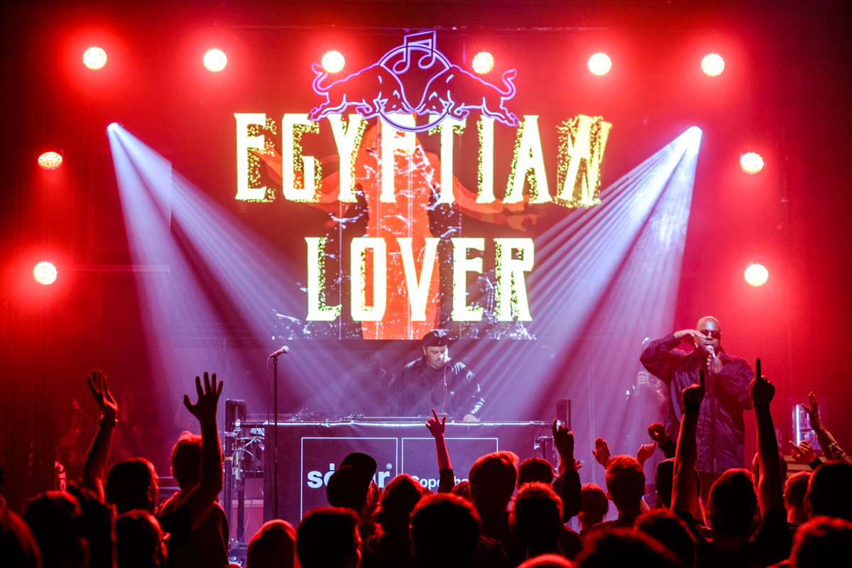 Egyptian Lover - performance