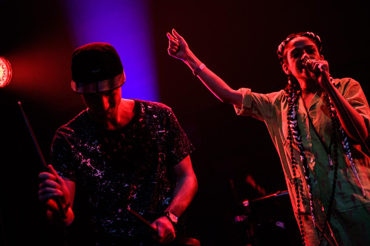 Singer Shivani and drummer Alexander Valentino Clerici