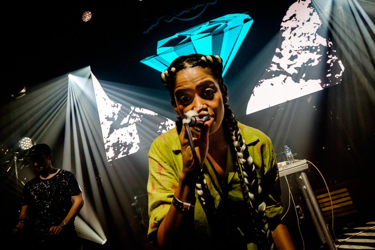 ALO WALA performs in the SonarDome by RBMA at Sonar Copenhagen in Copenhagen, Denmark on March 13th, 2015