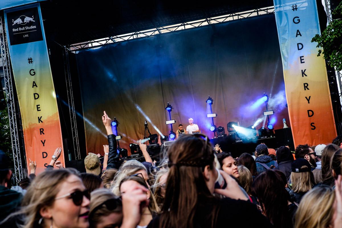 Shaq performs at Red Bull Studios live Gadekryds at Distortion in Copenhagen, Denmark on June 3rd, 2015