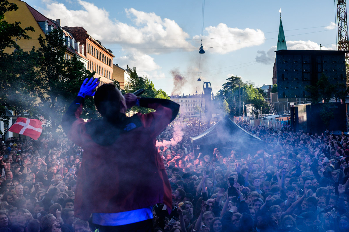 Emil Stabil performs at Red Bull Studios live Gadekryds at Distortion in Copenhagen, Denmark on June 3rd, 2015
