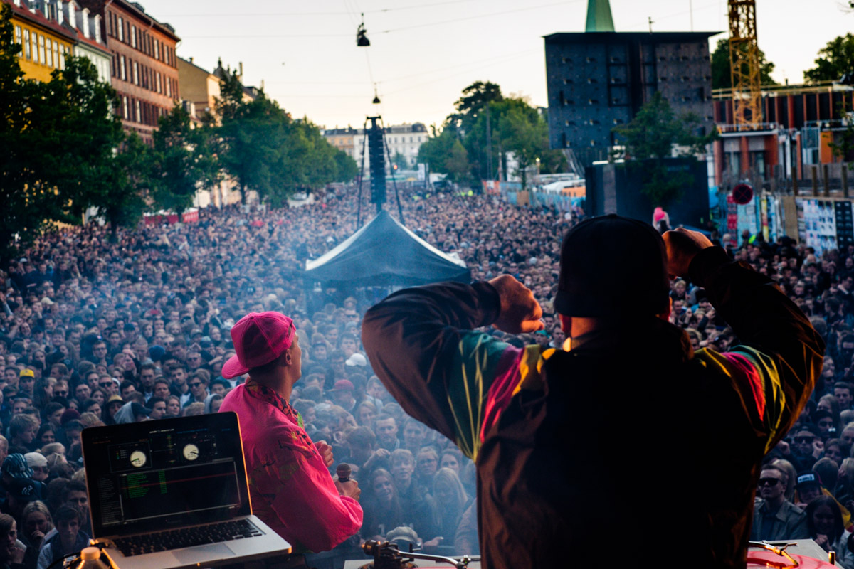 Marvelous Mosell performs at Red Bull Studios live Gadekryds at Distortion in Copenhagen, Denmark on June 3rd, 2015