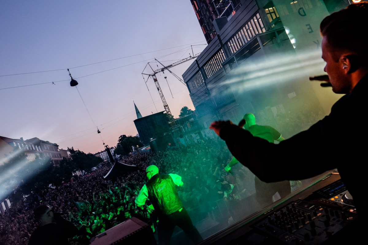 Suspekt performs at Red Bull Studios live Gadekryds at Distortion in Copenhagen, Denmark on June 3rd, 2015