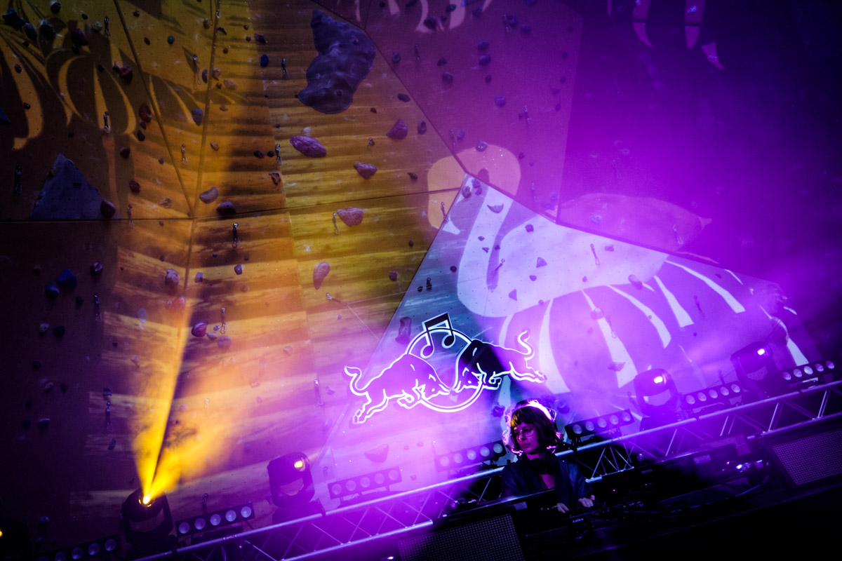 Courtesy performs at Red Bull Music Academy stage at Distortion festival in Copenhagen, Denmark on June 5th, 2015