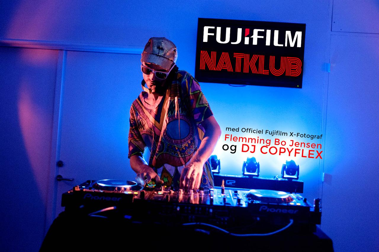 Fujifilm Nightclub - image by Charlene Winfred.