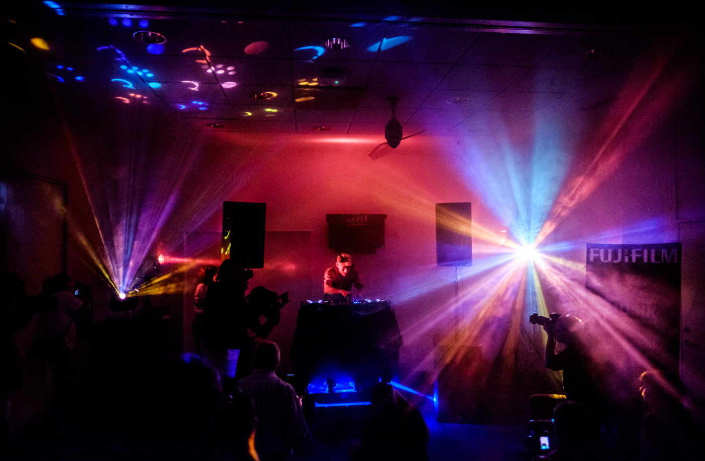 The Fujifilm Nightclub in full action!