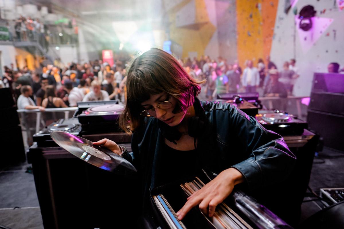 Courtesy on Red Bull Music Academy stage, Distortion festival, Copenhagen, Denmark