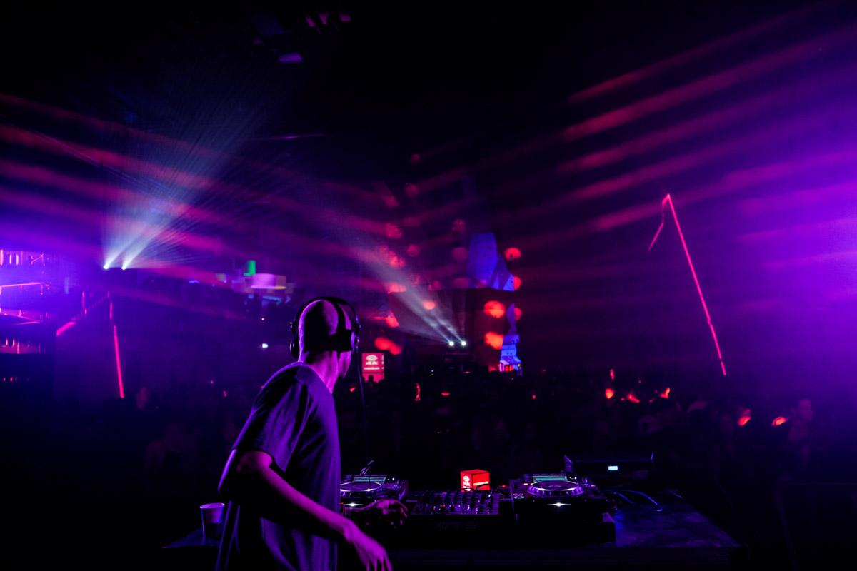 Bambounou on Red Bull Music Academy stage, Distortion festival, Copenhagen, Denmark