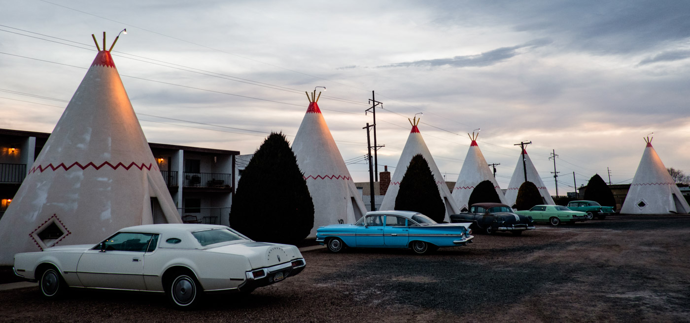 From the golden days of Route 66 in Holbrook, Arizona. More than 20% in this town now live under the poverty level.