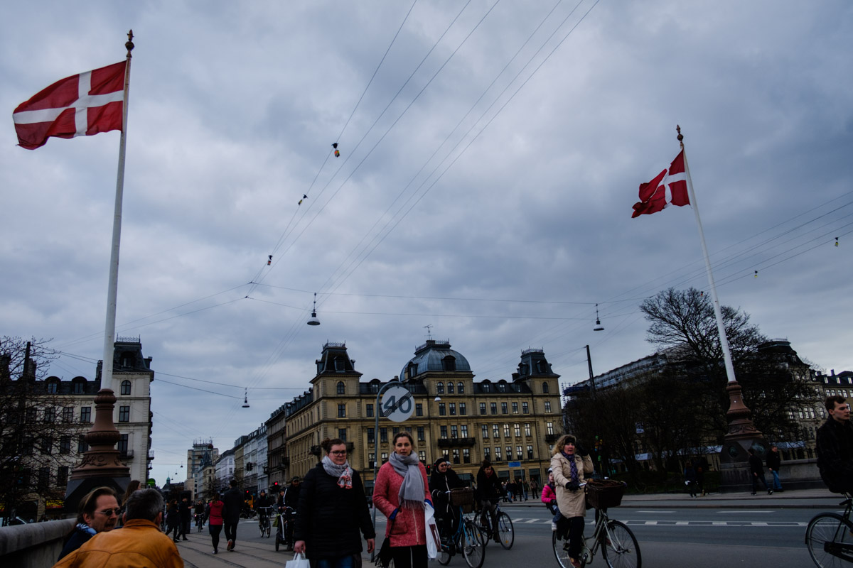 How nice of Copenhagen to bring out the flags to celebrate my birthday!